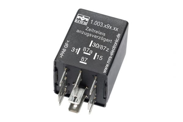 Time Relay with Switch On Delay M3 12 V
